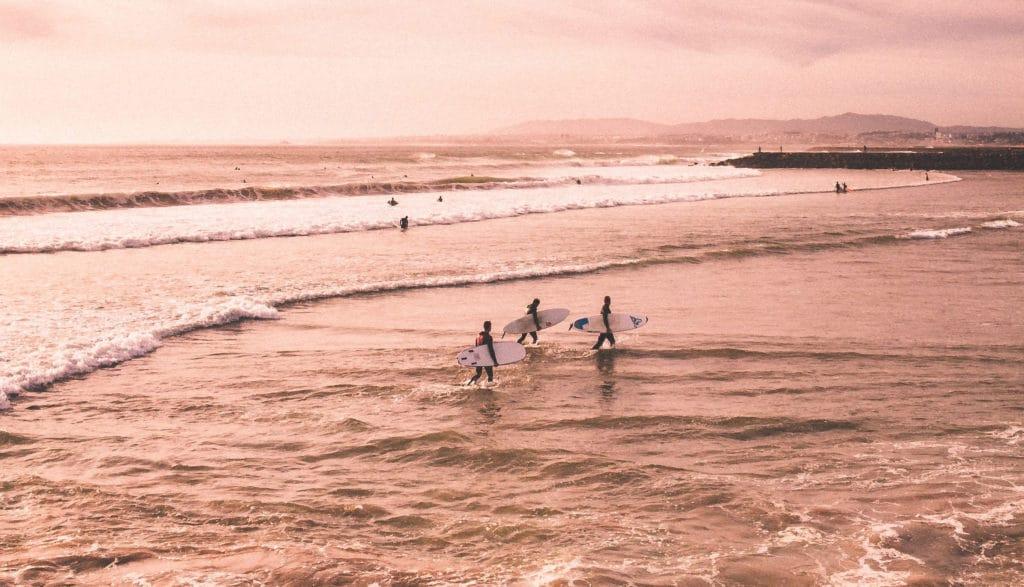 Destination surf pour digital nomad