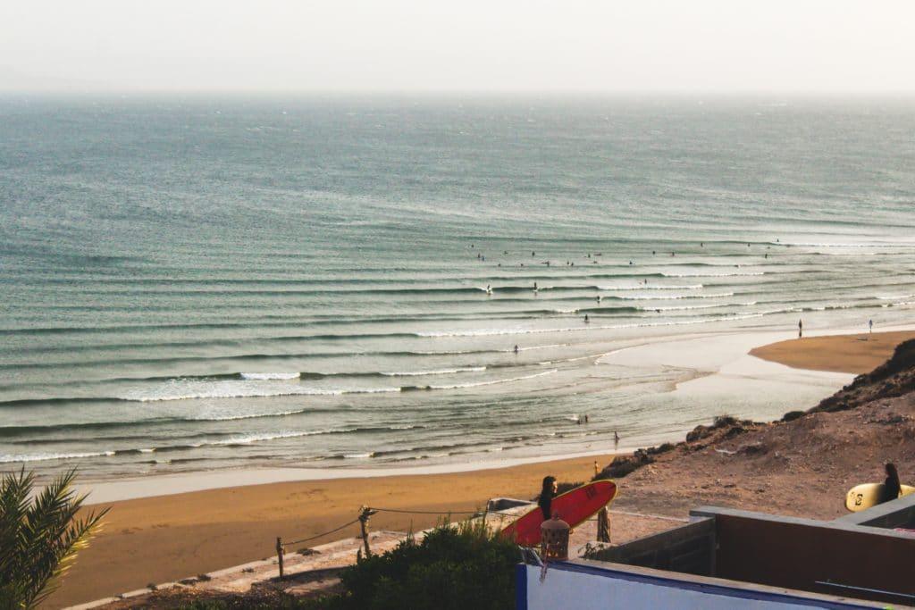 Imsouane et le Maroc, destination pour ceux qui aiment le surf et le soleil.