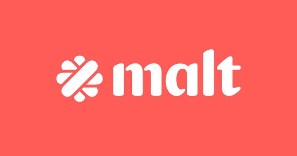 Logo de Malt, la plateforme pour les freelances